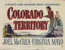 Colorado Territory 1949 DVD - Joel McCrea / Virginia Mayo